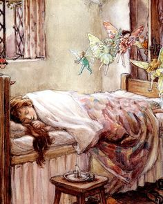 "Cicely Mary Barker - ""Dream of fairies"" 