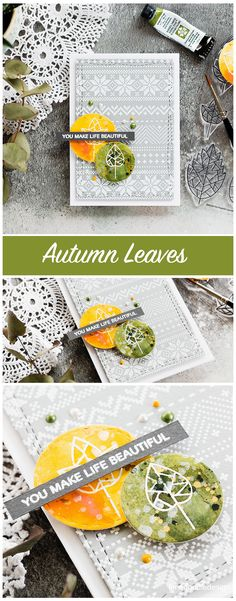 Autumn Leaves watercoloured handmade card by Debby Hughes and a look at the new STAMPtember release from Simon Says Stamp. Find out more here: http://limedoodledesign.com/2017/09/simon-says-stamp-stamptember-new-release/