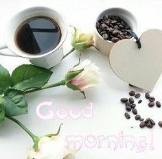 Jó reggelt I Love Coffee, My Coffee, Coffee Cafe, Tea Time, Good Morning, Treats, Cooking, Tableware, Relax
