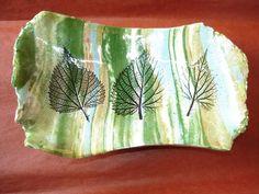 Les impressions de feuilles dans l'argile
