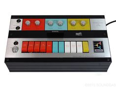 Maestro Rhythm n Sound G-1 - bonkers guitar synth/fuzz/octave unit from the late 60s.