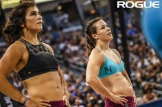 Lauren Fisher & Camille Leblanc-Bazinet: 2016 CrossFit Games 100%