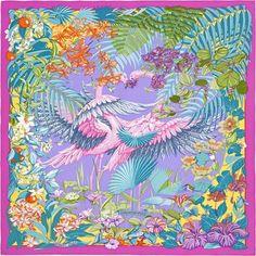 La Maison des Carrés Hermès | Flamingo Party