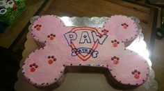 Paw patrol for a girl bday party