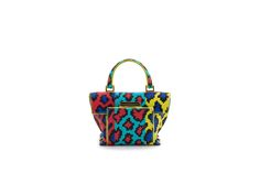Azzurra Gronchi spring/summer bags collection, nano bag pixel print