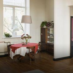 Светлая квартира с гостиной-кинотеатром на площади Труда (Петербург) — Квартира недели на The Village