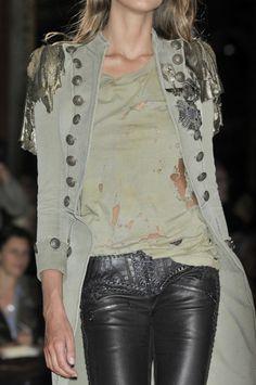 """sinolia: """" Balmain at Paris Fashion Week Spring 2010 """""""