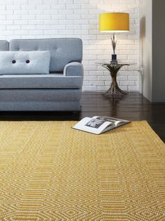 Give your home interiors a striking splash of colour with Asiatic Sloan Mustard Rugs.The Rugs Store, offers Asiatic Sloan Mustard Rugs at £59 with free delivery to all UK mainland.