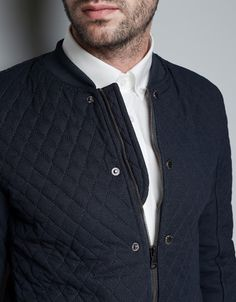 QUILTED JACKET - Jackets - Man - ZARA