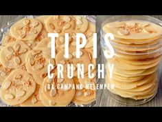 Banyak Putih Telur Dibikin ini aja Almond Tuile - YouTube Crispy Cookies, Cookie Decorating, Icing, Almond, The Creator, Brownies, Desserts, Social Media, Postres