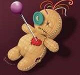 Voodoo love spells to make him or her permanently fall in love with you. Voodoo love spells to get your ex back, heal relationship problems & stop your lover from cheating on you Voodoo Doll Tattoo, Voodoo Dolls, Biscuit, Adornos Halloween, Doll Costume, Halloween Decorations, Artsy, Just For You, Lost