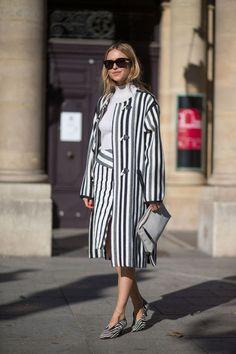 Best Paris Fashion Week Street Style Spring 2016 - Paris Street Style