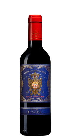 3/5 Rocca Guicciarda Nr 2723 Riserva ,  2013  Italien  , Toscana , Chianti , Chianti Classico 79:- Flaska , 375 ml Nyanserad smak med rostad fatkaraktär, inslag av mörka körsbär, kryddor, skogshallon och choklad.