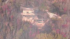 PHOTOS: Aerial view of fire damage in Gatlinburg