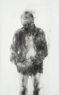 Diane Victor Dustman, 2010 Dust on paper 150 x cm Contemporary African Art, South African Artists, Beautiful Drawings, Artist Art, Figure Drawing, Art World, Figurative Art, Art History, Art Drawings