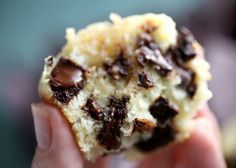 Cream Cheese Chocolate Chunk Muffins