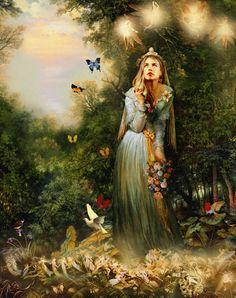 OBRAZKI - GIFY - CAROLINE: Women Art.Fantasy
