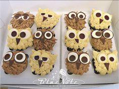 Owl cupcakes   Blue Note Bakery - Austin, Texas