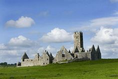14th century Ross Abbey, near Galway, Western Ireland  © Jim  Zuckerman