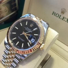 The new Datejust 41, classic Rolex with a bolder presence!