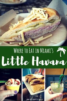 Little Havana's Calle Ocho is a must on any Miami itinerary. This guide will help you figure out what to do and where to eat on Calle Ocho. - Travel Miami - Ideas of Travel in Miami Orlando Florida, Miami Florida, South Florida, Florida 2017, Florida Living, Florida Keys, Florida Travel, Florida Vacation, Gourmet