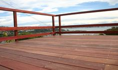 Purpleheart 140mm x 21mm Decking