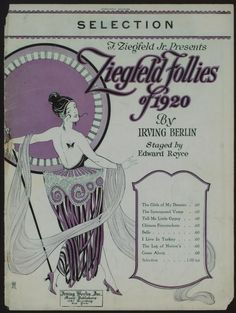 Selection from Ziegfeld follies of 1920 / [music] by Irving Berlin ; arr. by Albert Lewis Moquin.