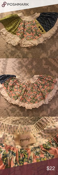 Persnickety Skirt GUC- some wash wear. So cute! Especially for fall or spring. persnickety Bottoms Skirts