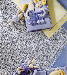 Crochet Patterns: Crochet Pattern Of Wonderful Throw Tablecloth Or bedspread