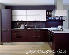 Minimalist Kitchen Cabinets, Redo Kitchen Cabinets, European Kitchen Cabinets, Contemporary Kitchen Cabinets, Kitchen Cabinet Styles, Kitchen Furniture, Kitchen Interior, Narrow Kitchen, Ikea Cabinets