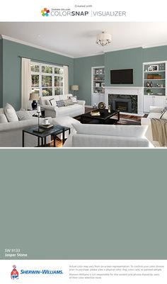 I found this color with ColorSnap® Visualizer for iPhone by Sherwin-Williams: Jasper Stone (SW 9133).