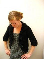 NobleKnits Yarn Shop - Jane Richmond Cozy Bolero Cardigan Knitting Pattern (http://www.nobleknits.com/jane-richmond-cozy-bolero-cardigan-knitting-pattern/)