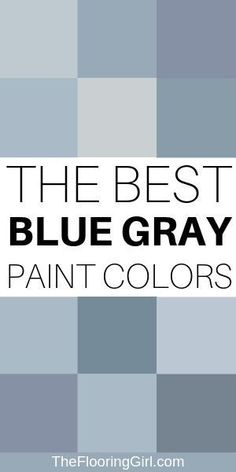 21 Amazing blue gray paint shades for a peaceful and soothing room. Chic and soothing bluish gray paint shades for a trendy and relaxing home. These tranquil paint colors will transform your home and how you feel in it. Bluish Gray Paint, Blue Gray Paint Colors, Bedroom Paint Colors, Interior Paint Colors, Paint Colors For Home, Wall Colors, House Colors, Interior Plants, Cafe Interior