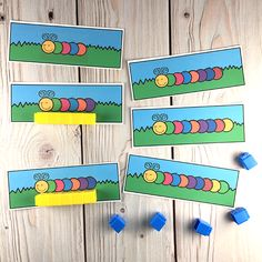 Bug Measuring Cards. Available at: https://www.teacherspayteachers.com/Product/Bugs-Insects-Printable-Math-Literacy-Activities-Pre-K-Preschool-Kindergarten-3081561