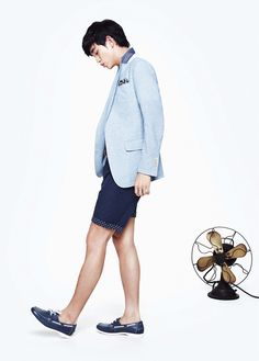 Kim Soo Hyun Bares His Legs For ZIOZIA's Summer 2013 Campaign (UPDATED)   Couch Kimchi