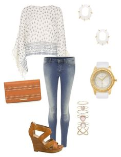 """""""Untitled #140"""" by kmysoccer on Polyvore featuring River Island, Cheap Monday, Kendra Scott, Fiorelli, Seychelles and Accessorize"""