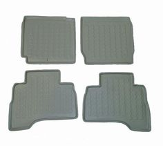 2006-2007 Suzuki Grand Vitara (3 or 5 Dr) Carbox 4 Pc Floor Tray Set - Grey