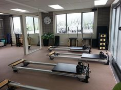 SPX® Reformers, Stability Chairs™ and other accessories at Core Pilates in New Zealand