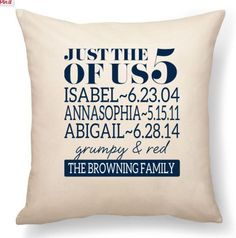 New Thirty-One personalized pillows! www,mythirtyone.com/red31