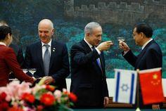 Israel y China preparan zona de libre comercio