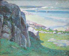 """Annisquam River Scene,"" George Loftus Noyes, oil on canvas, 25 x 30"", private collection."