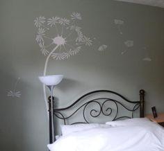 Dandelion art, make a wish.