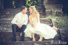 #Bride and #groom laugh with each other. #weddingphotography #wedding #weddingdress