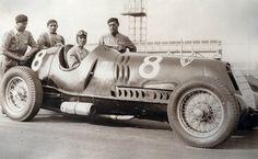 VANDERBILT CUP 1936 - Alfa Romeo 12C-36 #8 of  Tazio Nuvolari (winner)