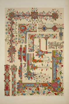 Medieval Ornament Illuminated Manuscripts no. 2: Portions of illuminated manuscripts of the thirteenth and fourteenth ce... (1856)