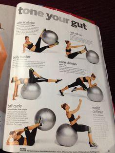 Exercise Ball Abs