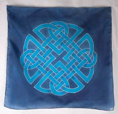 Blue Celtic Knotwork