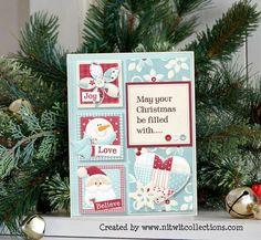 May your Christmas be filled with..... by Mary Fran @2peasinabucket