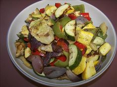 Weight Watchers Roasted Vegetables - 0 Points!. Photo by gertc96