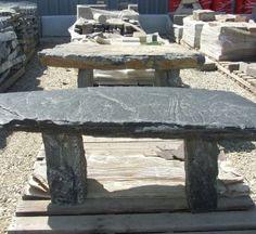Stone Benches Image